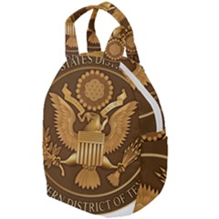 Seal Of United States District Court For Southern District Of Texas Travel Backpacks
