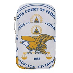 Seal Of United States Court Of Federal Claims Waist Pouch (small)