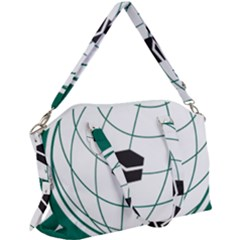Flag Of The Organization Of Islamic Cooperation Canvas Crossbody Bag