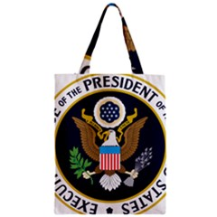 Seal Of The Executive Office Of The President Of The United States Zipper Classic Tote Bag