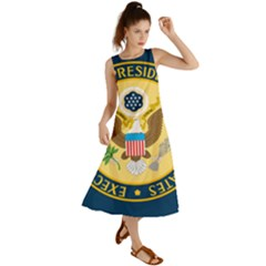 Flag Of The Executive Office Of The President Of The United States Summer Maxi Dress