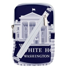 Logo Of The White House  Belt Pouch Bag (small)