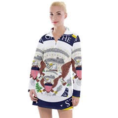 Seal Of Vice President Of The United States Women s Long Sleeve Casual Dress