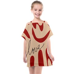 Sahara Street Love Kids  One Piece Chiffon Dress