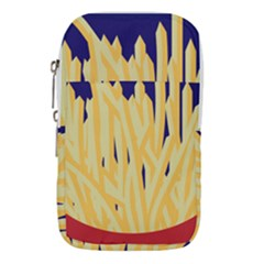 French Fries Potato Snacks Food Waist Pouch (large)