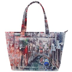 Venice Water Laguna Italy Back Pocket Shoulder Bag