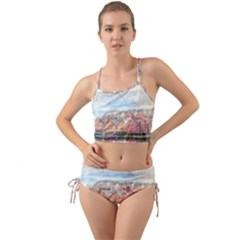 Architecture City Buildings River Mini Tank Bikini Set