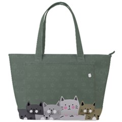 Cute Cats Back Pocket Shoulder Bag