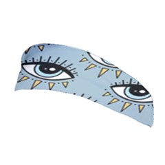 Eyes Pattern Stretchable Headband