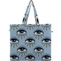 Eyes pattern Canvas Travel Bag View1