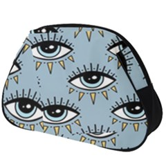 Eyes Pattern Full Print Accessory Pouch (big)