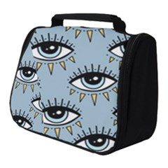 Eyes Pattern Full Print Travel Pouch (small)