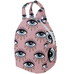 Eyes Pattern Travel Backpacks