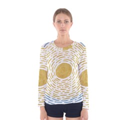 Summer Sky Women s Long Sleeve Tee