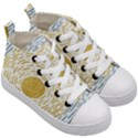 Summer sky Kids  Mid-Top Canvas Sneakers View3