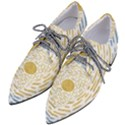 Summer sky Women s Pointed Oxford Shoes View2