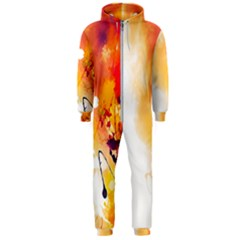 Autumn Paint Hooded Jumpsuit (men)