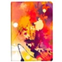 Autumn paint Apple iPad Pro 9.7   Flip Case View1