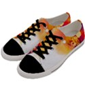 Autumn paint Men s Low Top Canvas Sneakers View2