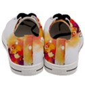 Autumn paint Men s Low Top Canvas Sneakers View4