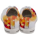 Autumn paint Women s Low Top Canvas Sneakers View4