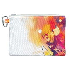 Autumn Paint Canvas Cosmetic Bag (xl)