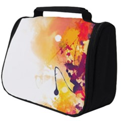 Autumn Paint Full Print Travel Pouch (big)