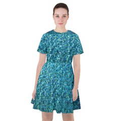Turquoise Blue Ocean Sailor Dress