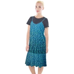 Turquoise Blue Ocean Camis Fishtail Dress