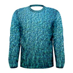 Turquoise Blue Ocean Men s Long Sleeve Tee