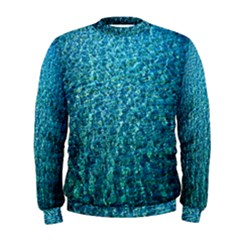 Turquoise Blue Ocean Men s Sweatshirt