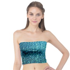Turquoise Blue Ocean Tube Top