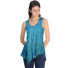 Turquoise Blue Ocean Sleeveless Tunic