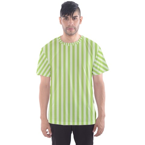 Lime Stripes Men s Sports Mesh Tee by retrotoomoderndesigns