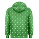 Green Polka Dots Men s Pullover Hoodie View2