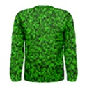 Green Mosaic Men s Long Sleeve Tee View2