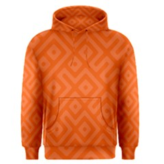 Orange Maze Men s Pullover Hoodie
