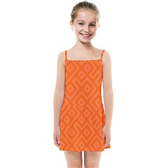 Orange Maze Kids  Summer Sun Dress