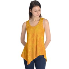 Sunshine Orange Sleeveless Tunic