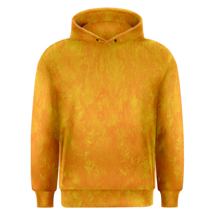 Sunshine Orange Men s Overhead Hoodie