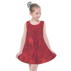 Bright Red Dream Kids  Summer Dress by retrotoomoderndesigns