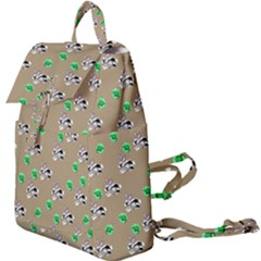 Bunnies Pattern Buckle Everyday Backpack by bloomingvinedesign