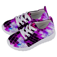 Purple Disco Ball Kids  Lightweight Sports Shoes by essentialimage