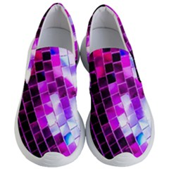 Purple Disco Ball Women s Lightweight Slip Ons by essentialimage