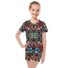 New Arrivals A 17 Kids  Mesh Tee And Shorts Set