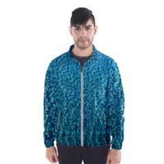 Turquoise Blue Ocean Men s Windbreaker