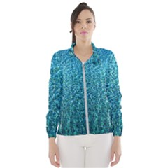 Turquoise Blue Ocean Women s Windbreaker