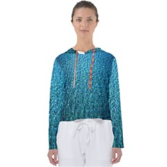 Turquoise Blue Ocean Women s Slouchy Sweat