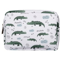 Vector Seamless Pattern With Cute Crocodiles Make Up Pouch (medium) by Vaneshart