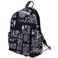 Vector Pattern Design With Tribal Elements The Plain Backpack